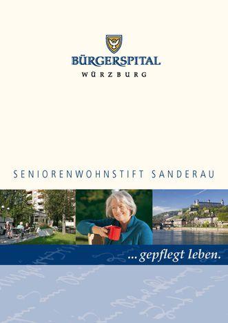 Broschüre Seniorenwohnstift Sanderau_Miniaturbild
