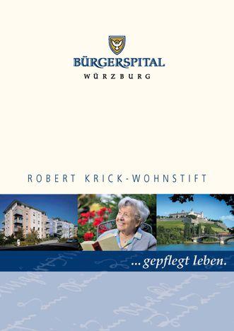 Broschüre Robert Krick-Wohnstift_Miniaturbild
