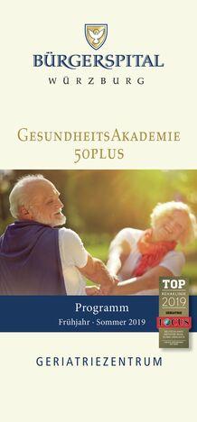 GesundheitsAkademie 50+_FrühjahrSommer 19