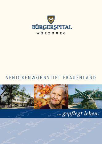 Broschüre Seniorenwohnstift Frauenland_Miniaturbild