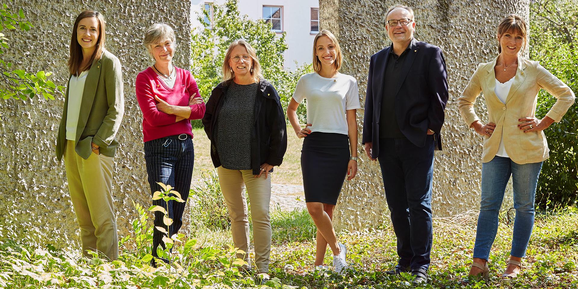Stiftung Bürgerspital mit Direktorin und Abteilungsleitern